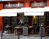 Lunch in Paris - 8x10 Fine Art Photograph - European Photo - Paris Decor