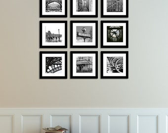 Black And White Photography Wall Art black and white photography eiffel tower in paris france