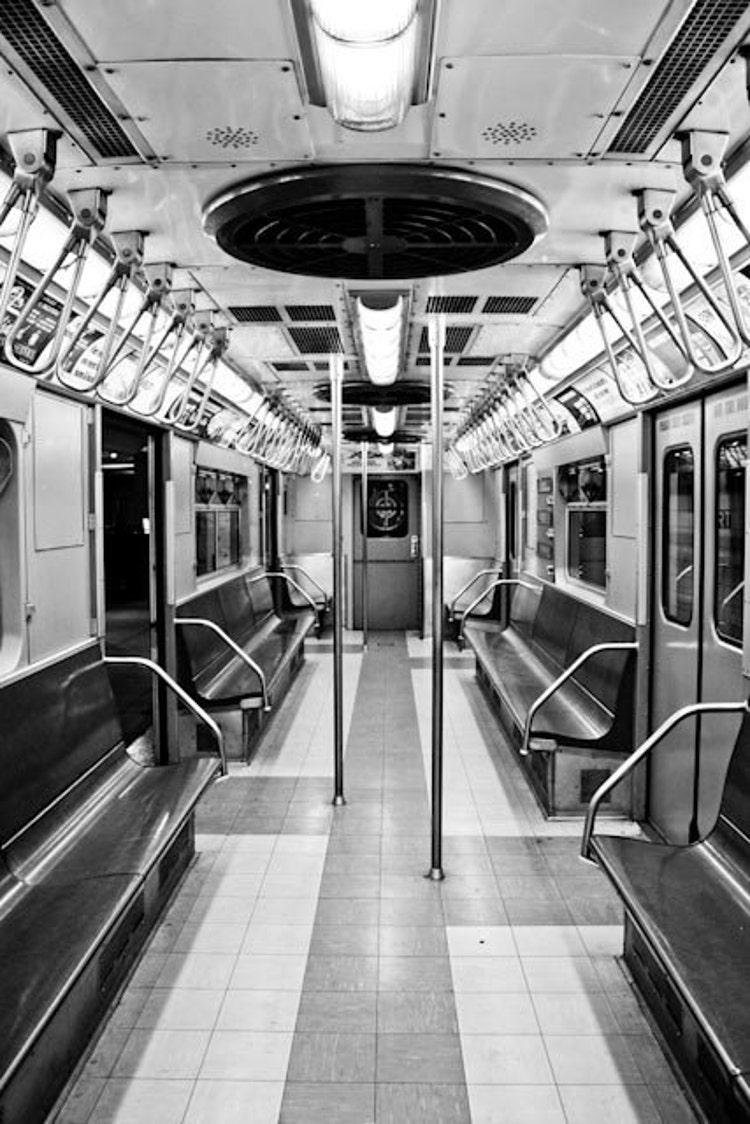 Mint Green New York City Subway Photography By Rebeccaplotnick