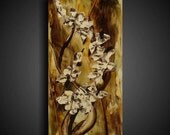Encaustic Painting - Asian Painting - Abstract Painting - Original Painting by The Raw Canvas