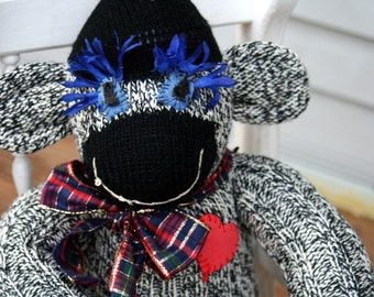 Tweed The Sock Monkey