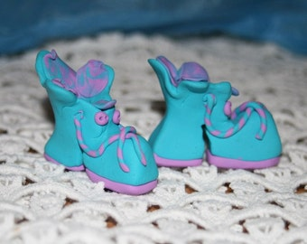 Polymer Clay Platform Shoes