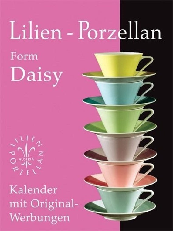 Five Perfect Pastel Cups Lilien Porzellan Austria