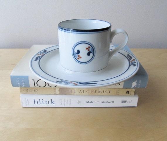 vintage dansk bistro Maribo cup and saucer set