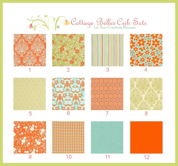 final design of your own baby bedding | Design Your Own Custom Crib Bedding Set You Choose the