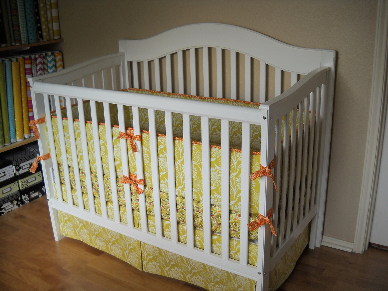 final design of your own baby bedding | Design Your Own Custom Crib Bedding Set You by CottageBelles
