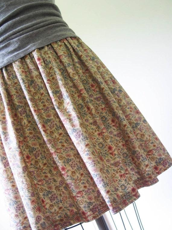 Prairie Flower - Cotton Katie Skirt (L)