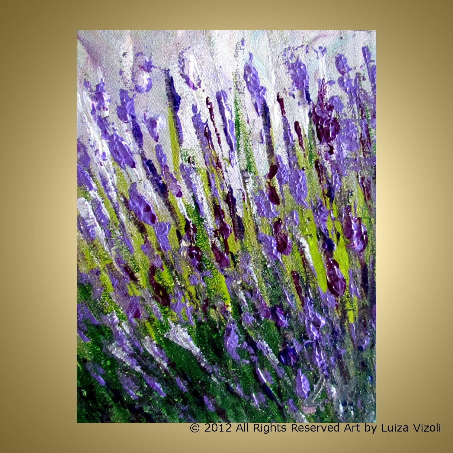 lavender painting - photo #18
