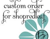 custom designed static webpage - ShopRedLeaf