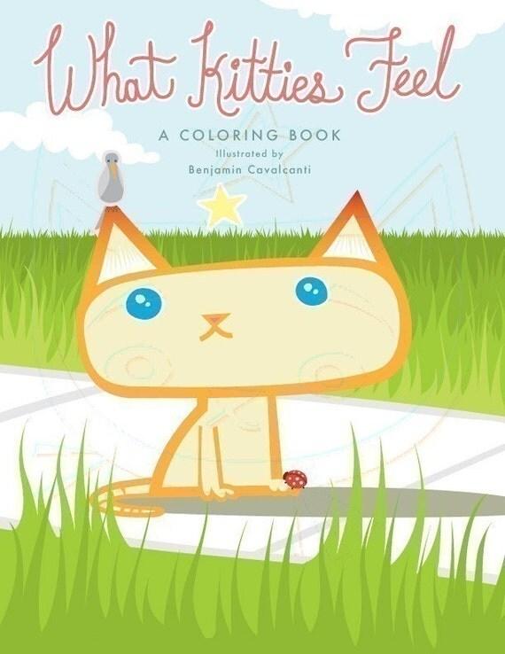Coloring Book - What Kitties Feel - download