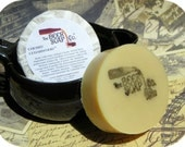 Handmade Soap Gifts For Men - Cherry Cedarwood Beer Soap- Made with Sam Adams Cherry Wheat Beer