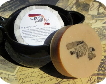 The Hipster Beer Soap Made With Brooklyn Red Lager