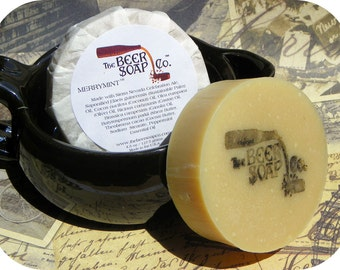 Merrymint Beer Soap - Made with Sierra Nevada Celebration Ale
