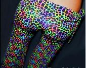 Rainbow Crackle Hoop Pants