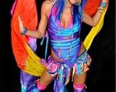 CUSTOM Neo Tribe Rave Costume