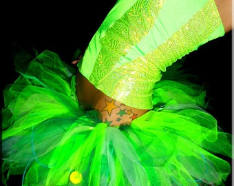 UV Tinkerbell Dance Costume
