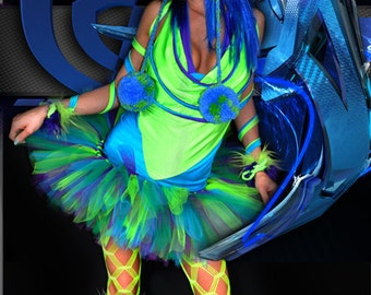 Virtual Rave Costume