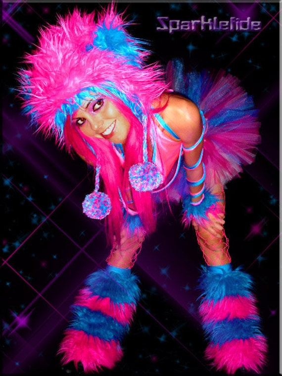 Custom Cosmic  Rave Costume