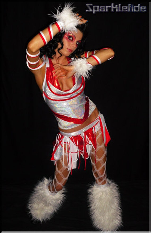 Peppermint Rave Costume