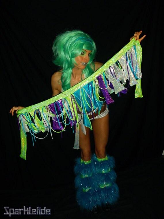 Siren Rave Costume