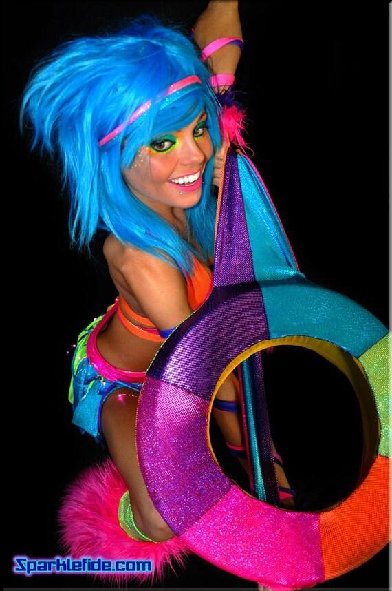 UV Rainbow Hoop Backpack