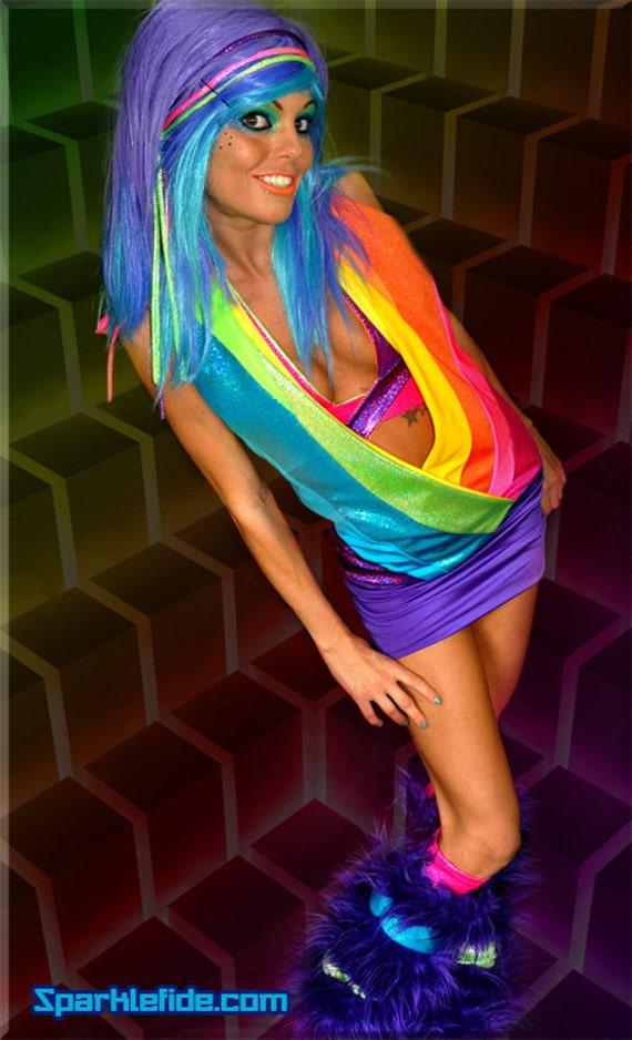 Radical Rainbow Dress