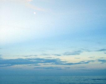 Ocean Meets Sky - 5 x 7 fine art color photograph