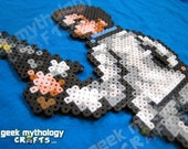 Nick Left 4 Dead 2 Custom 8bit Video Game Perler Bead Sprite