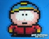 SOUTH PARK Eric Cartman Perler Bead Sprite Character