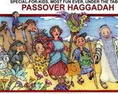 PASSOVER HAGGADAH. Exodus Story. Uncle Eli's Most Fun Ever, Special for Kids Haggadah. Educational Book. Matzoh. Signed Copy. Ships Free USA