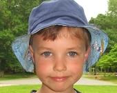 Surfing Snoopy bucket hat for little boys 2T 3T 4T 5T