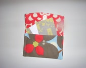 Mad Izzy Card Case - Amy Butler fabric (red)
