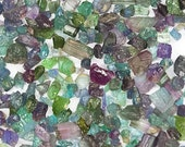 Paraiba Tourmaline Crystals - specimens - micro - small - 5 carats - one gram - Coyoterainbow - blue - purple - green - lot of crystals