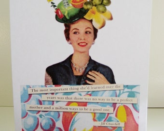 Fruity Mom blank card