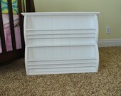 Double Row Book Rack