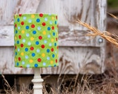 CRAZY SALE---Lots of Dots Lampshade