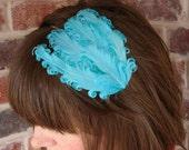 LAVINIA feathered headband