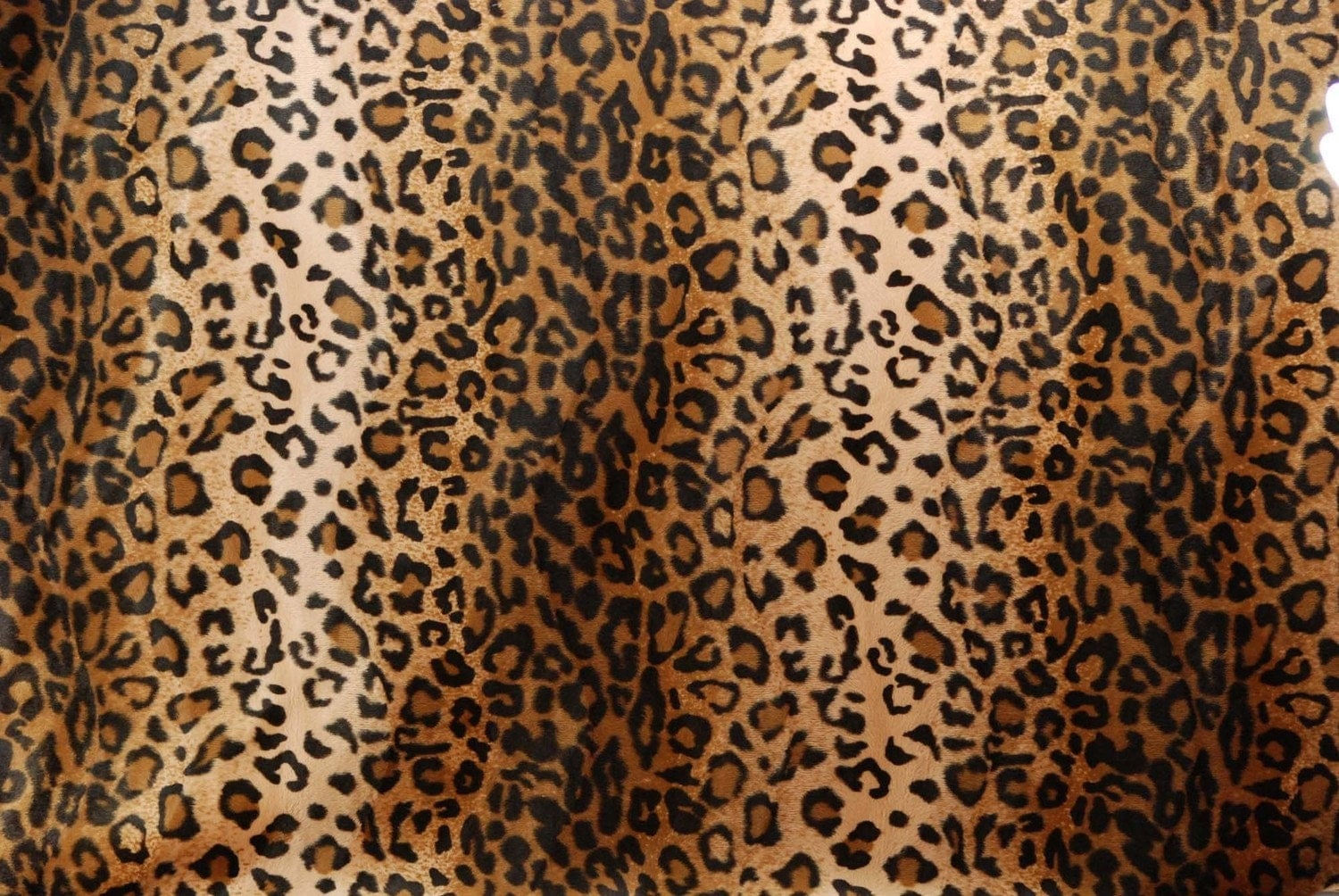 Leopard Print Fabric leopard print faux fur fabric excellent quality 2 yards