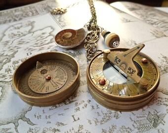 Spyglass Compass Sundial