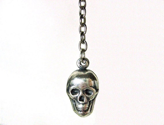 Long Skull Earrings
