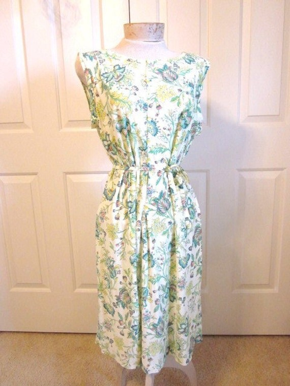 Cool and Comfotable Vintage Plus Size Shift Dress