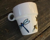 Sale - Dragonfly and Friends Teacup