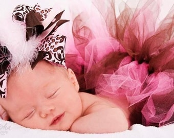 Sweet Girl Over The Top  Bow on Matching Headband Free Shipping On All Addional Items