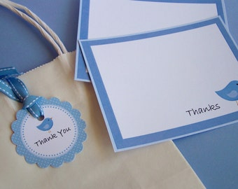 Baby Bird Party Collection - Printable Favor Tags by The Birthday House