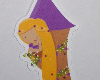 Princess Party - Set of 10 Rapunzel Favor Tags by The Birthday House