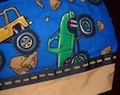 Boy's Big Truck Toy Tote