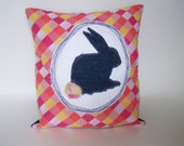 Clearance Discount 50% off Sale Bunny Rabbit Pillow Shabby Chic Country