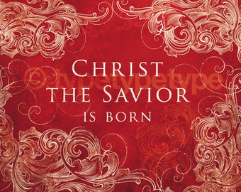 SALE 10 pack of Christ the Savior is Born 5x7 prints