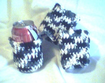 Beverage Cozies - Licorice - set of 3