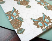 Owl Notecards (set of 5)